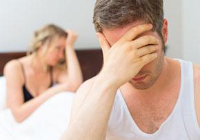 załamanie - kłopoty z erekcją