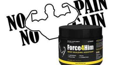 Recenzja Ultrarade Force4Him - produkt na przyrost masy mięśniowej